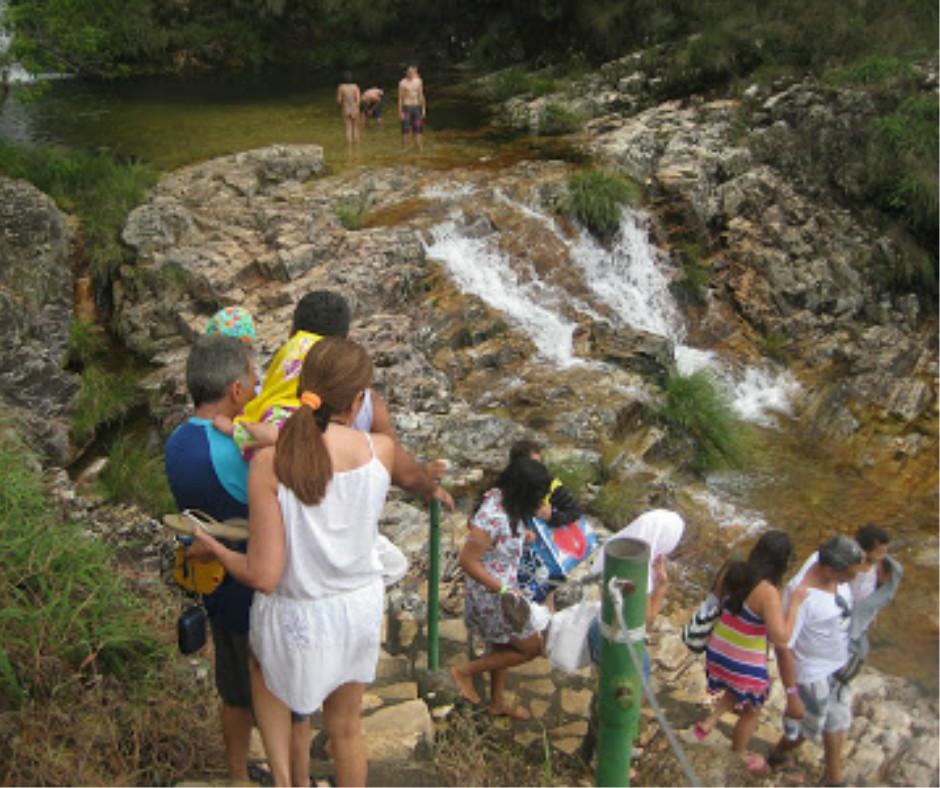 Emporio Lagoa Azul cachoeira de Furnas