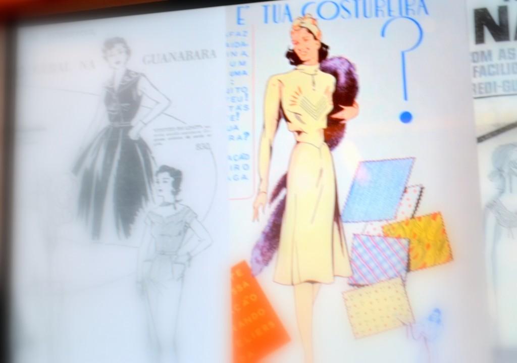 moda e fotos no museu de Belo Horizonte