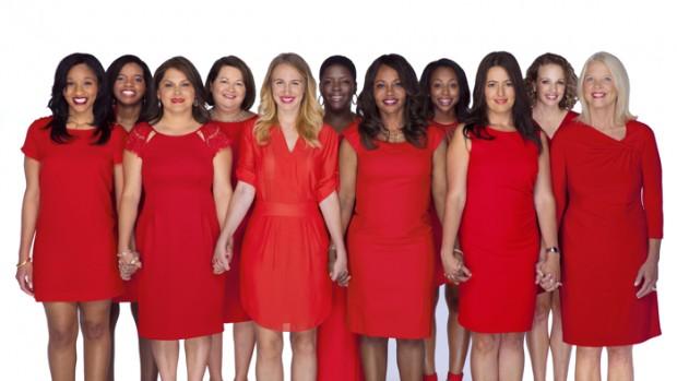 Vá de vestido vermelho é um simbolo na prevenção das doenças do coração