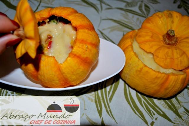 pumpkinos para jantar a dois