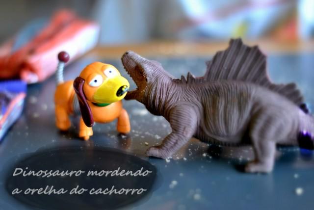 Dinossauro e uma imagem vale mais do que palavras?
