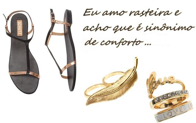 Sandália rasteira look verão Blog Abraço Mundo
