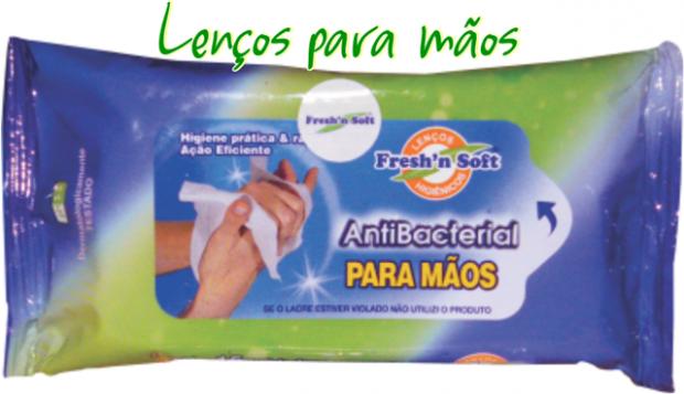 Higiene com lenços umedecidos