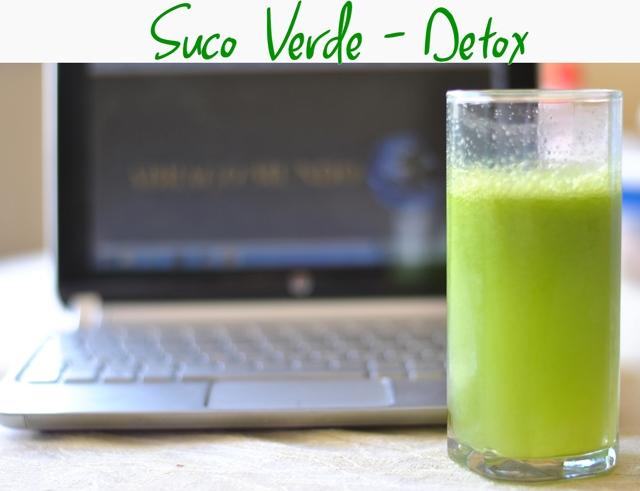 Receita suco verde desintoxicante