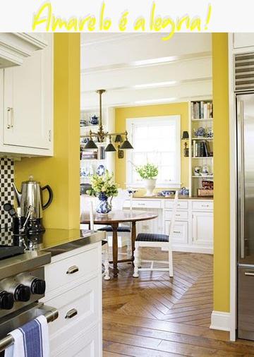 """""""cores na cozinha e decoração"""" """"amarelo cozinha"""""""