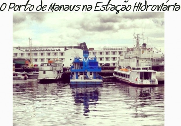 viajar porto Estação Hidroviária Manaus Brasil