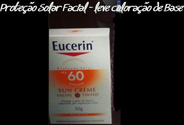 Protetor solar Eucerin