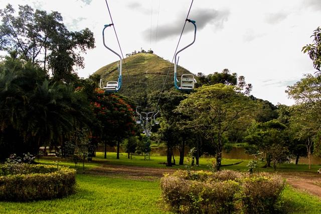 Parque das Águas em Caxambu sul de Minas Gerais