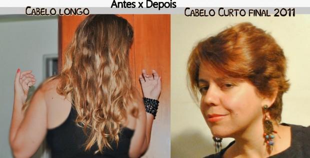 Antes e depois cortes de cabelo 2013