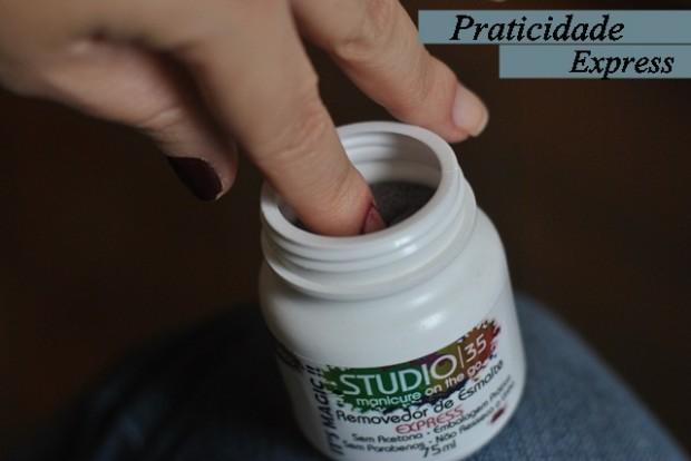 Removedor de esmalte express Studio 35