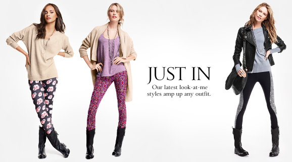 Leggings estampadas na moda
