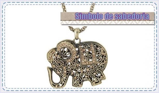 significado dos pingente com elefante