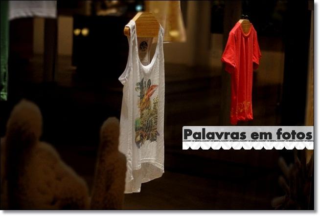 roupas do projeto coral Vivo
