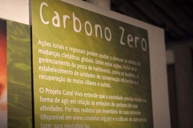 Carbono zero no beco das cores