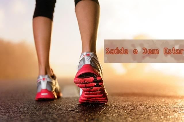 corpo e mente saudável com atividade física e caminhadas