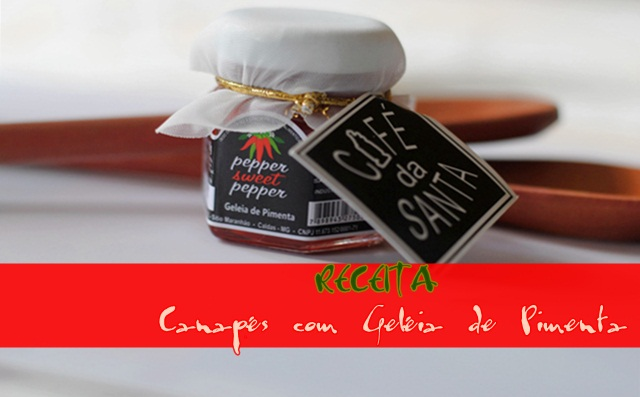 Geleia de pimenta para finger food receitas