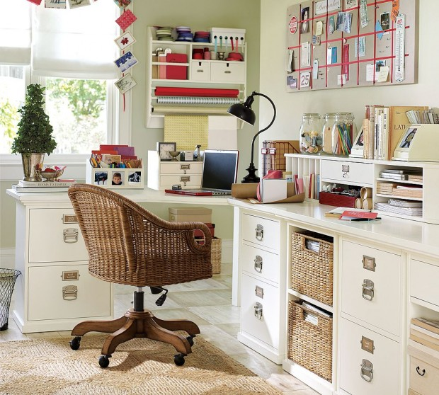 Decore sua casa e organize o home office