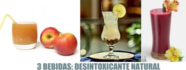 CHÁ OU SUCO desintoxicante natural