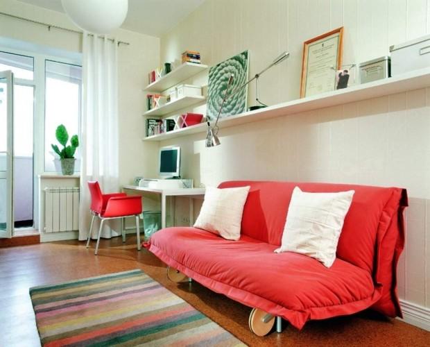 Decorar a casa com cores