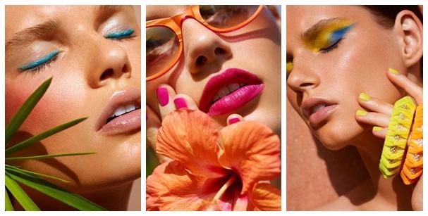 maquiagem tropical leve para o carnaval