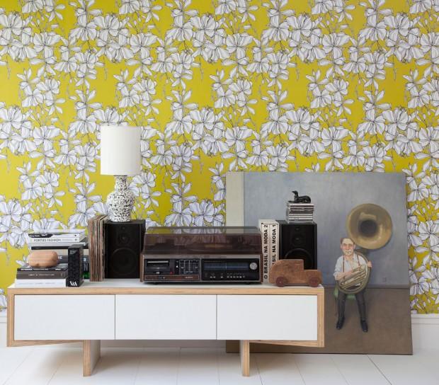 parede decorada por Rosenbaum