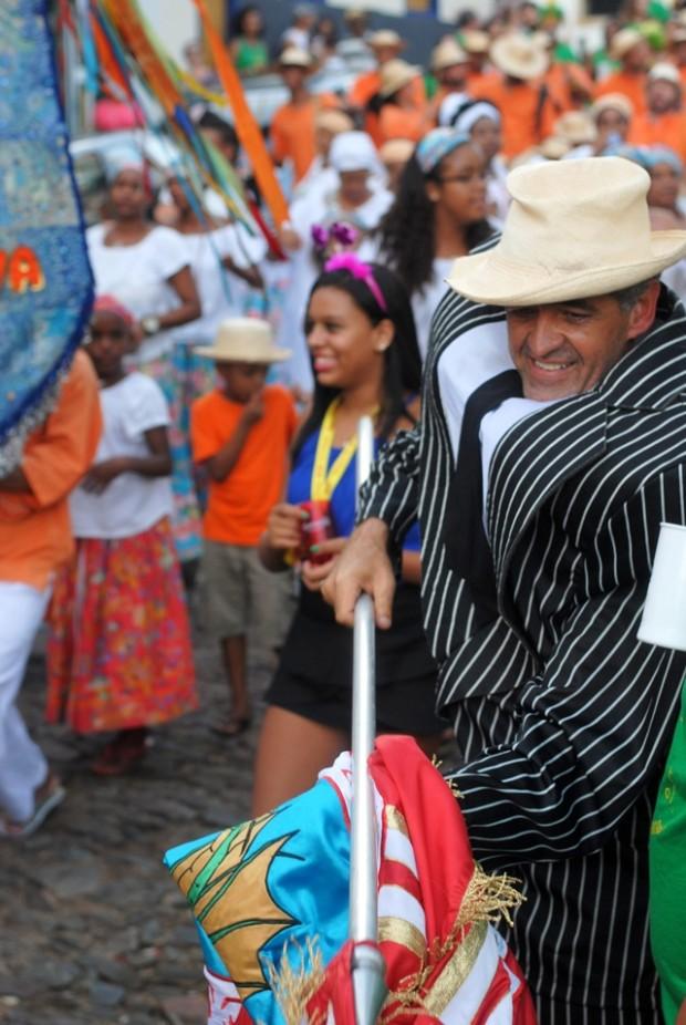 cores em carnaval de Ouro Preto - MG