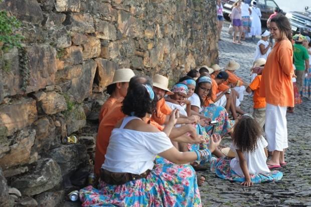 concentração Maracatu Lua Nova Carnaval Ouro Preto