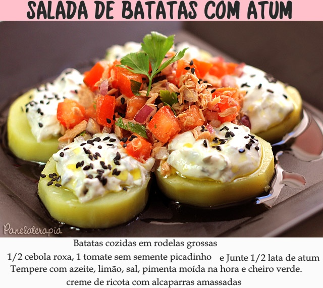 na quarta-feira de cinzas tem salada de batatas
