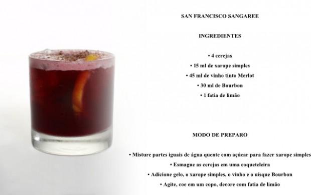 San Francisco bebidas com vinho