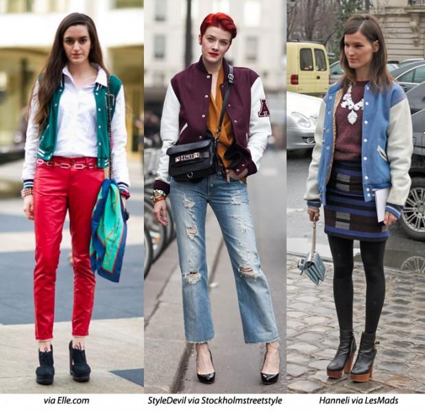 Blusa de frio ou Varsity jacket