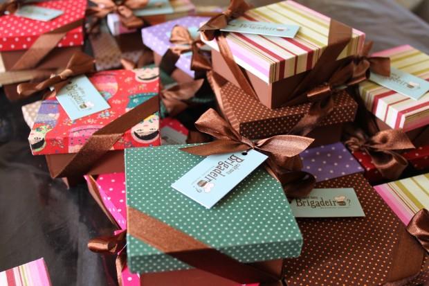 embale chocolates para presente em BH