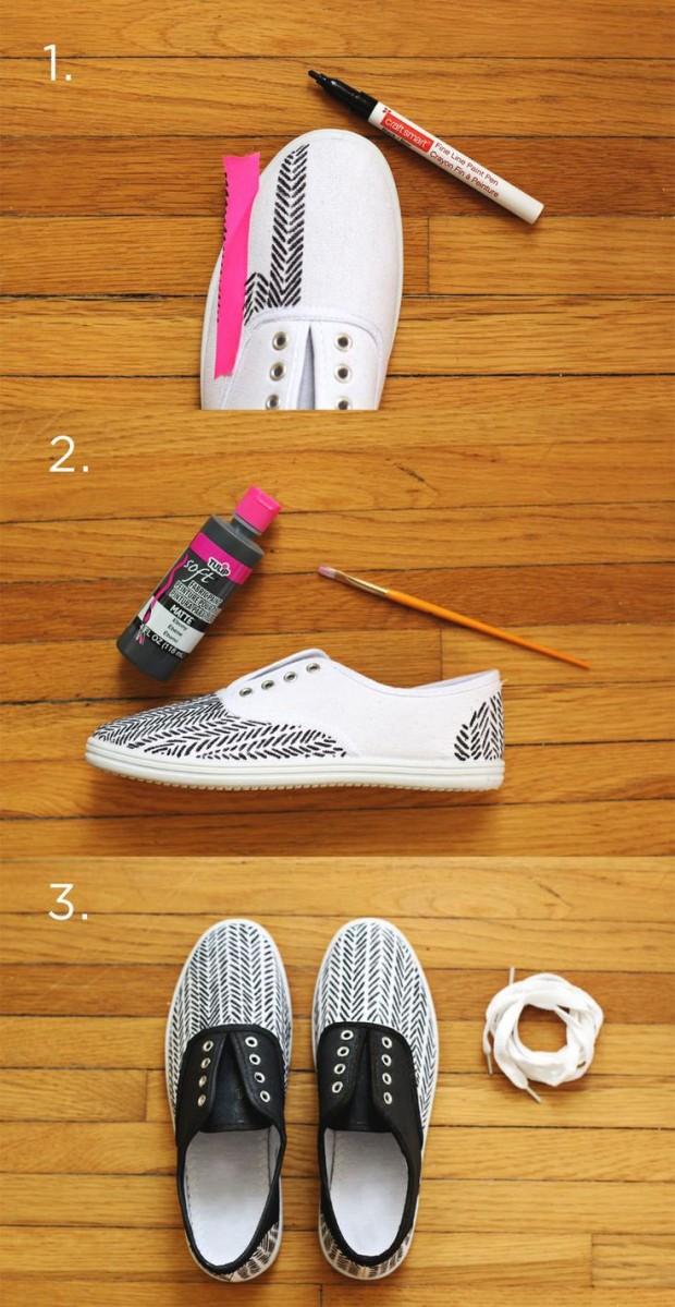 DIY tênis customizado