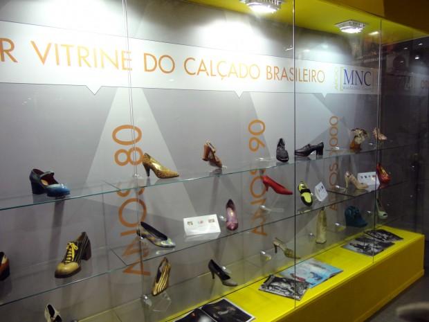 história do sapato no museu