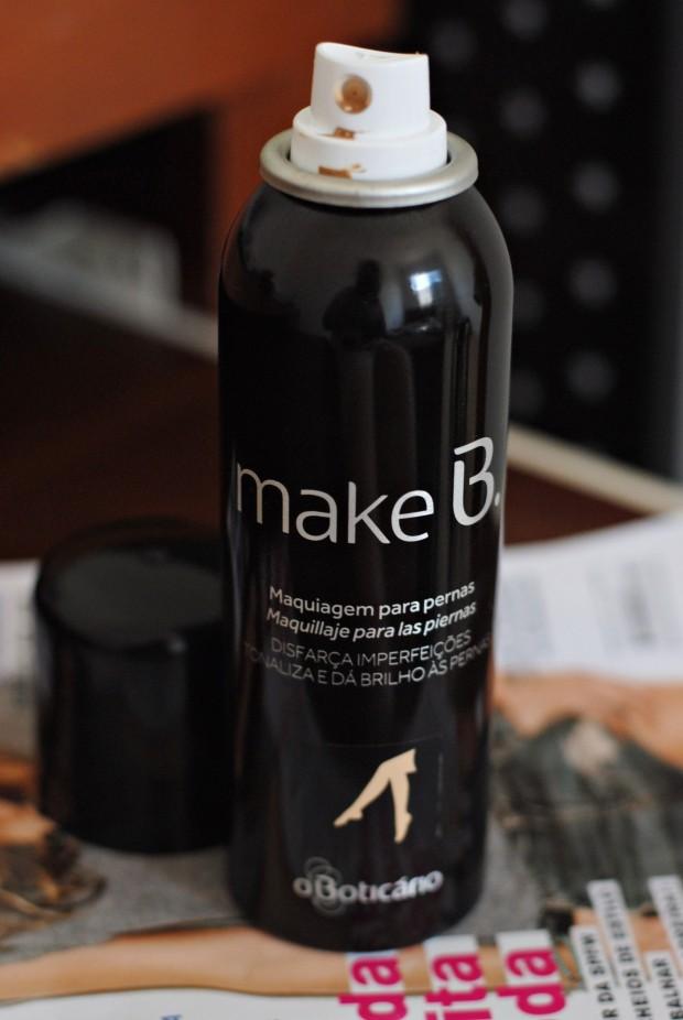 makeB. maquiagem para as pernas