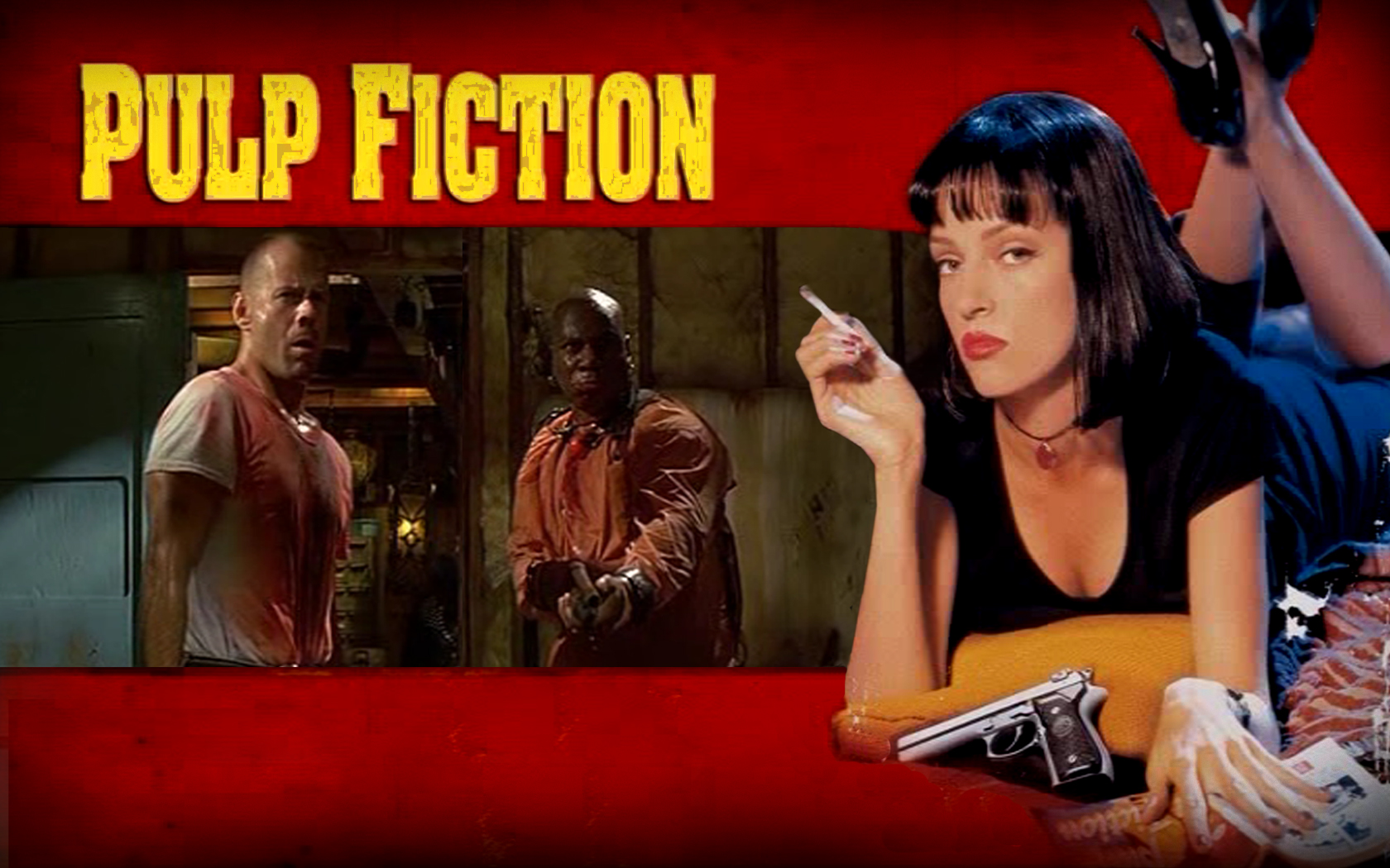 Pulp Fiction é um clássico do cinema anos 90