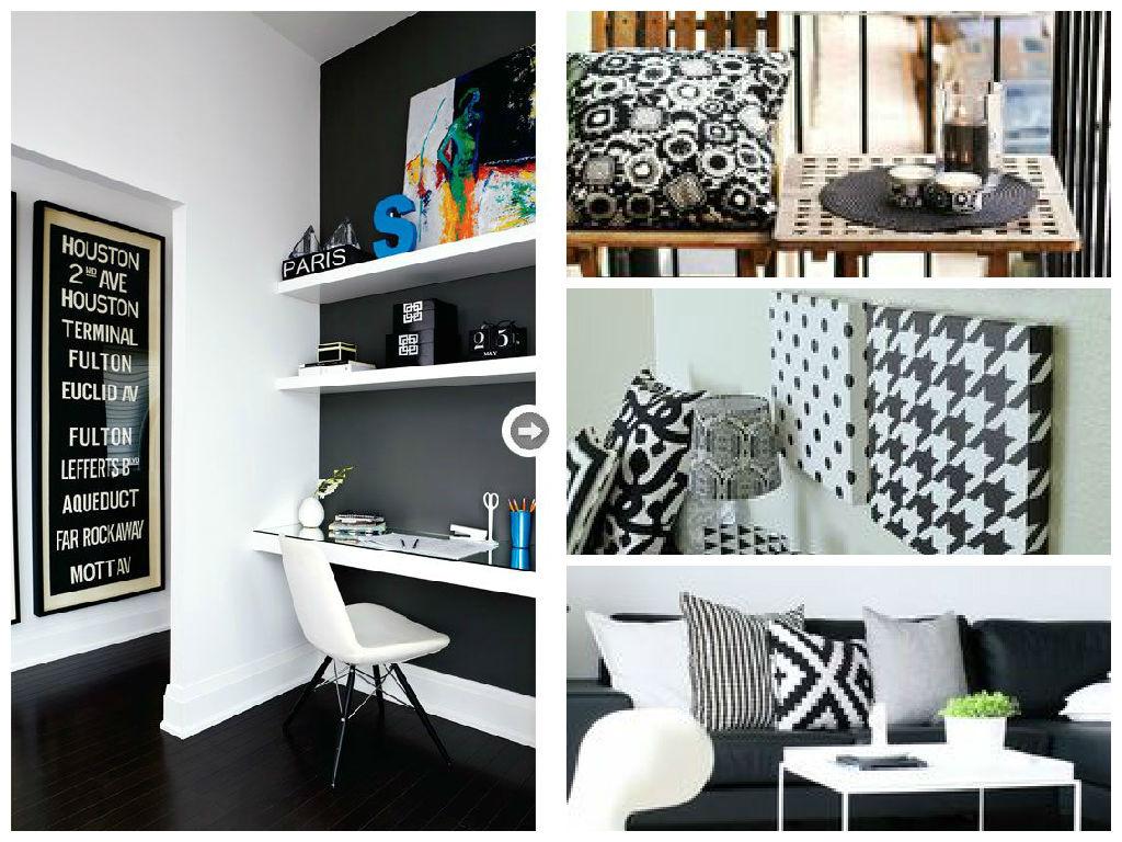 Black and White elegância na decoração