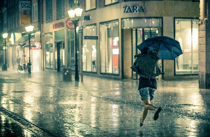 Moda em dias de chuva