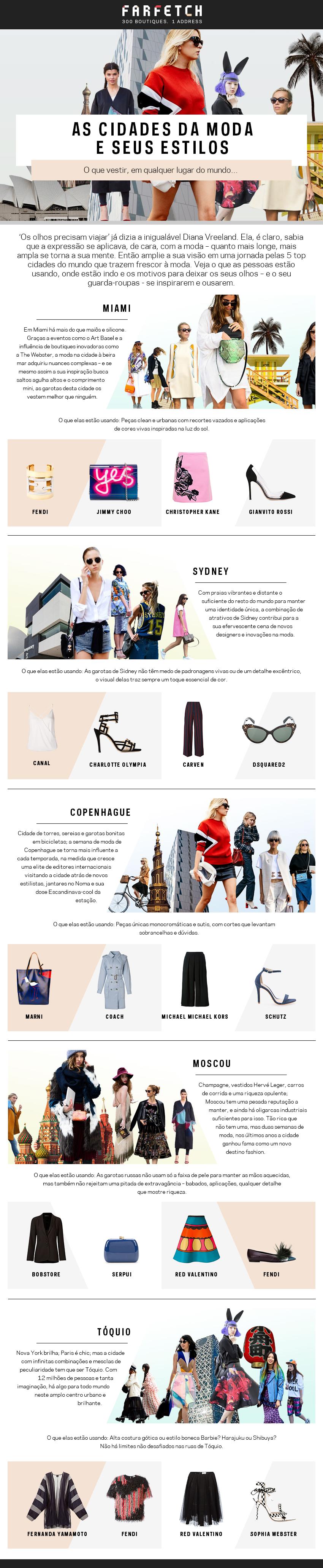 Volta ao mundo Fashion