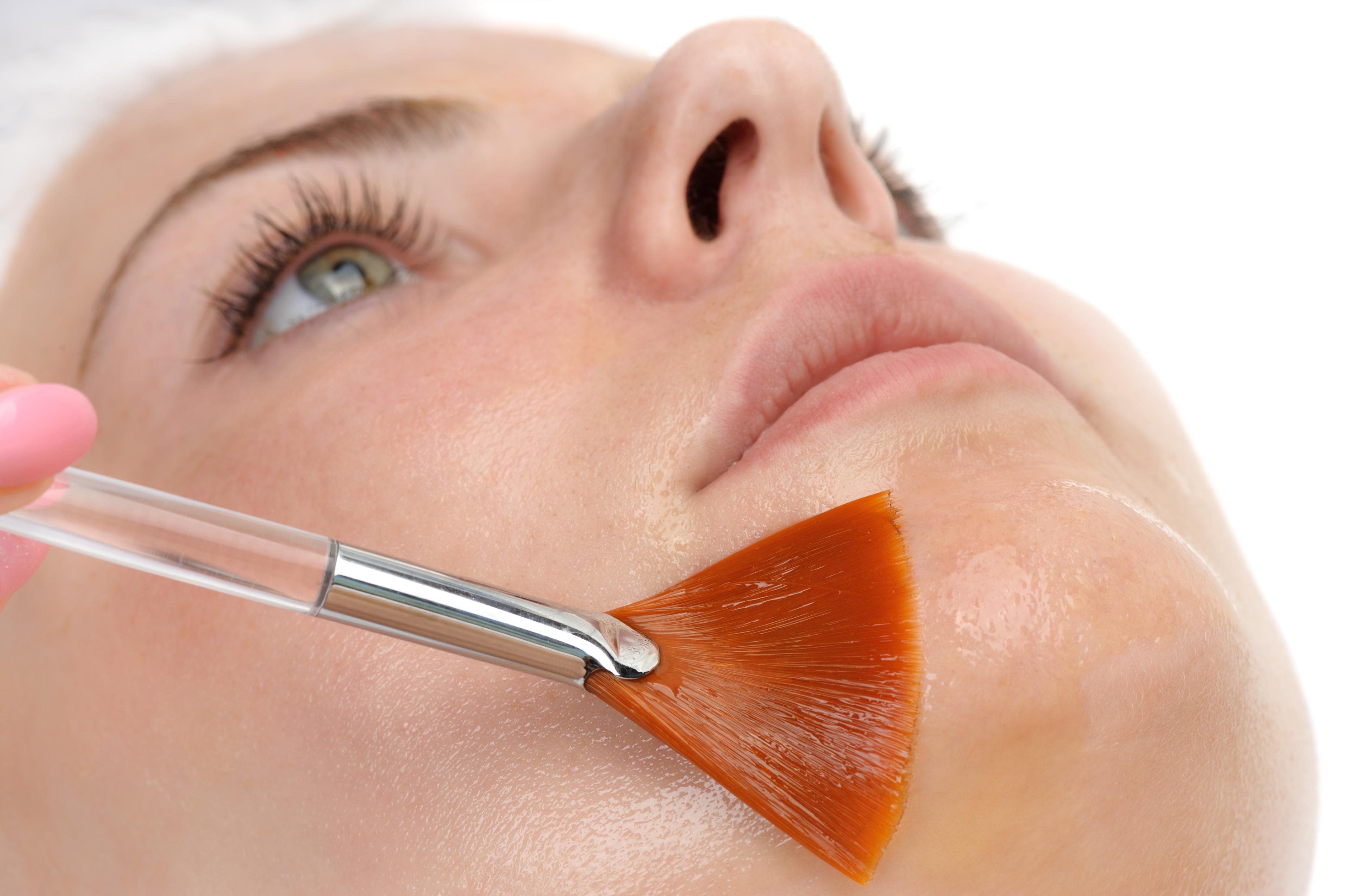 peeling facial em casa