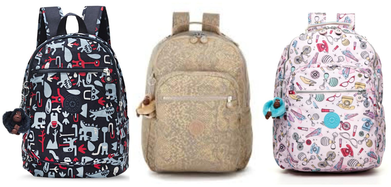 mochilas da kipling mãe de menino