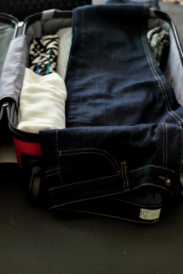 como organizar a mala de viagem