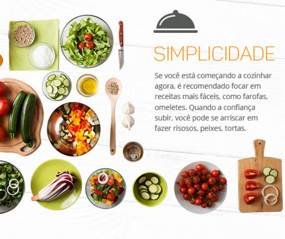 cortes de legumes em cozinha-simplicidade em sua casa