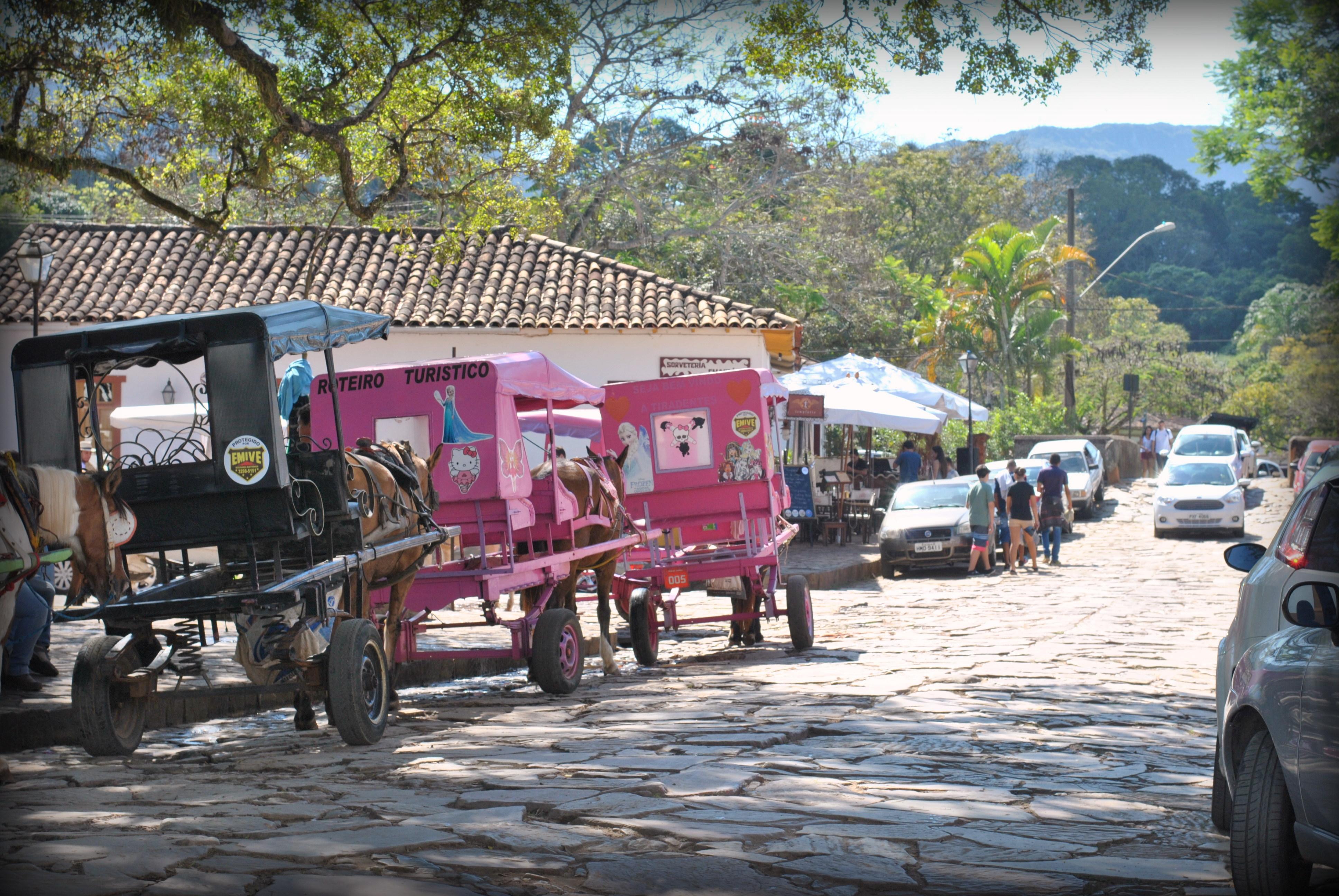 charretes em Tiradentes Minas Gerais