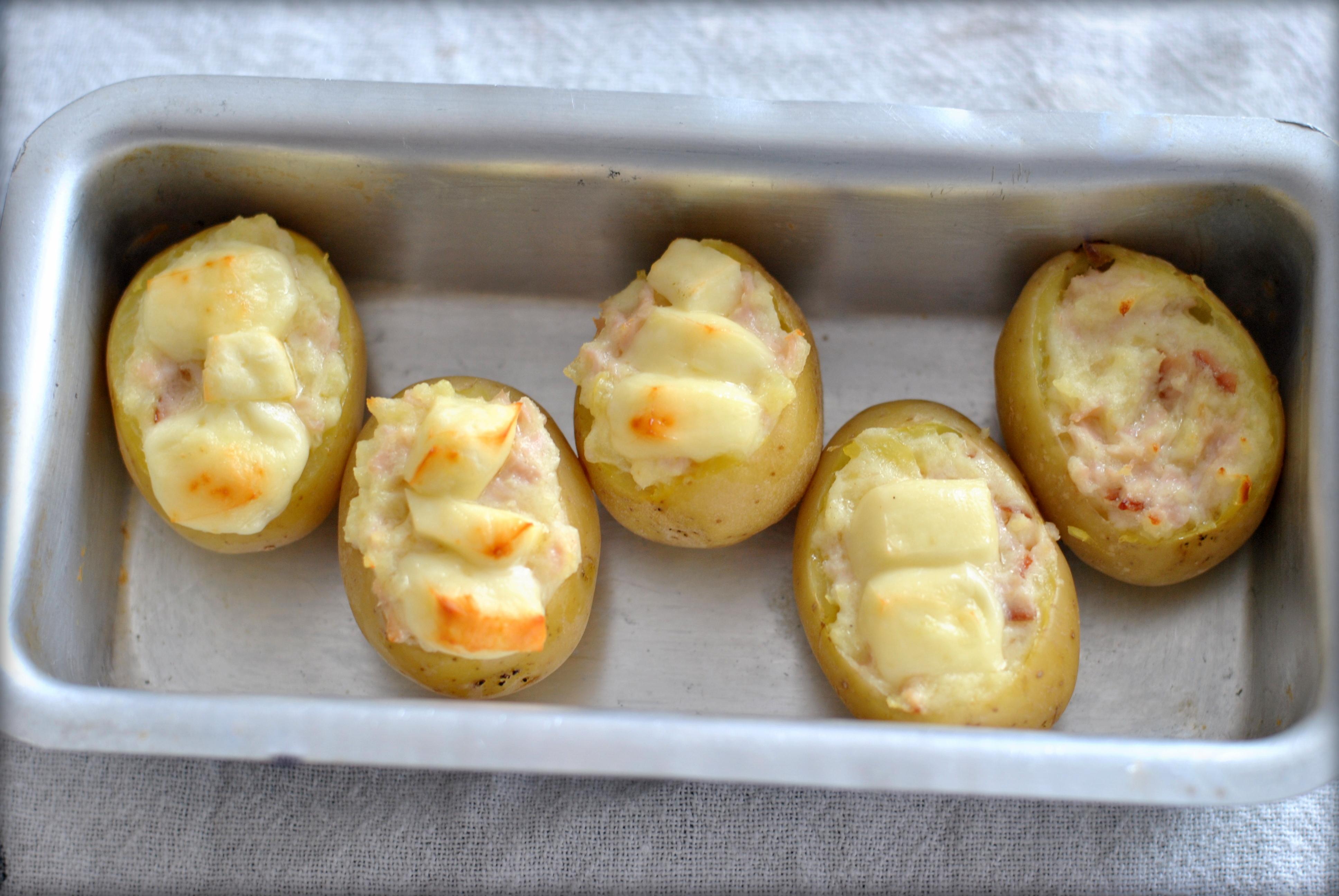 Batatas gratinadas simples