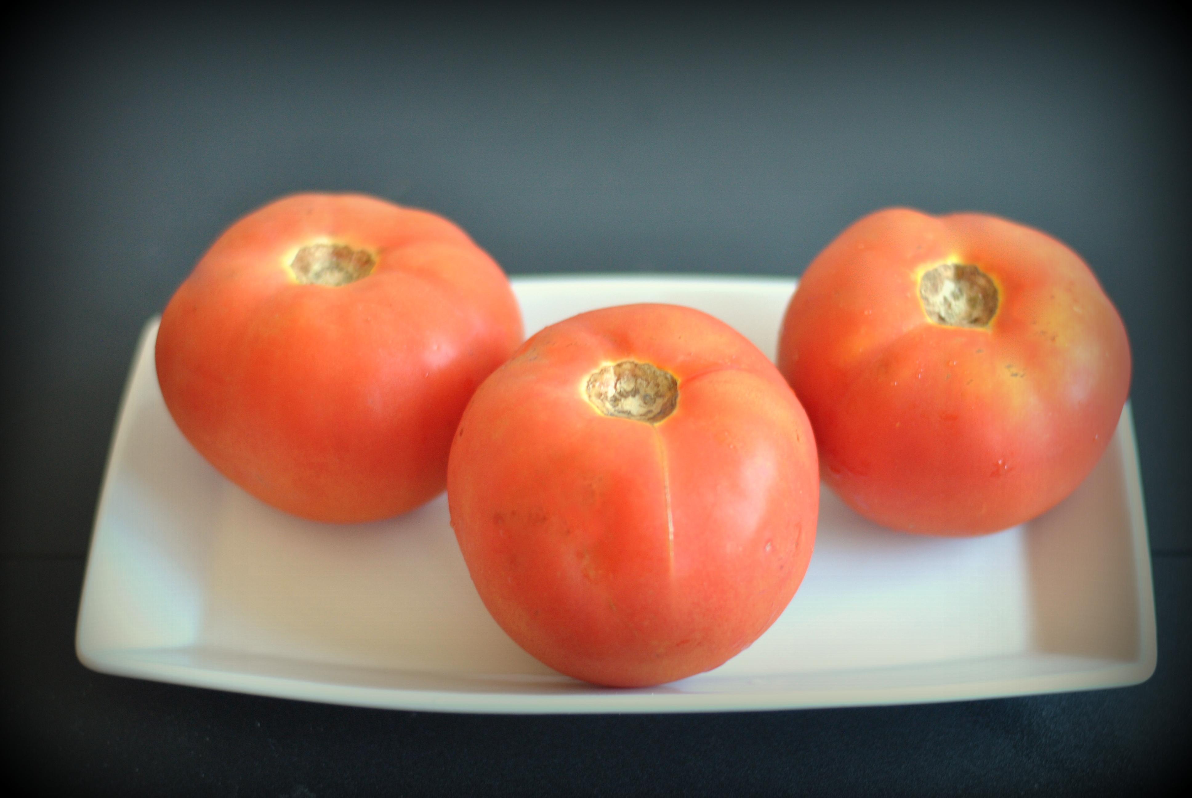 receita tomate recheado ao forno