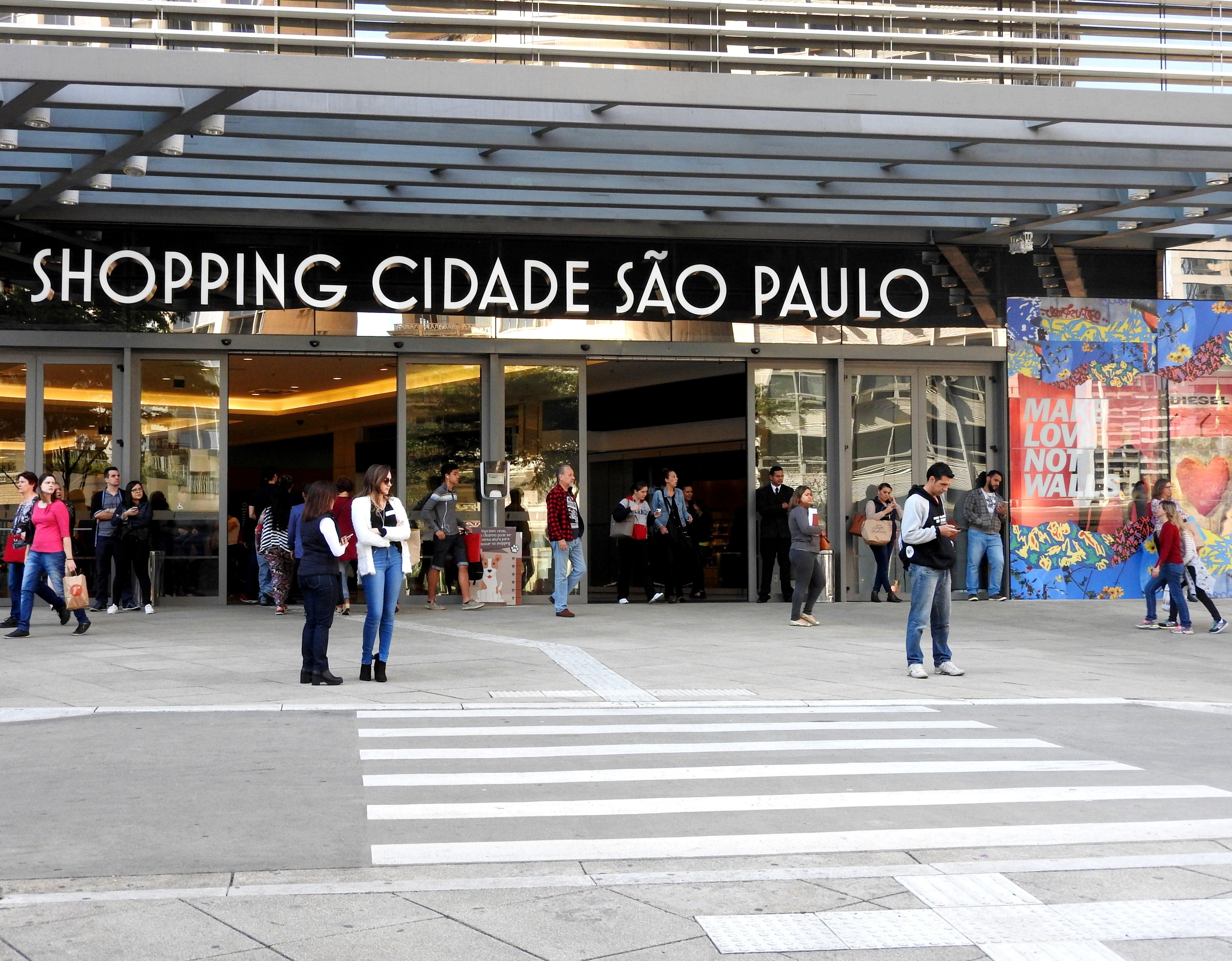 Shopping na avenida Paulista