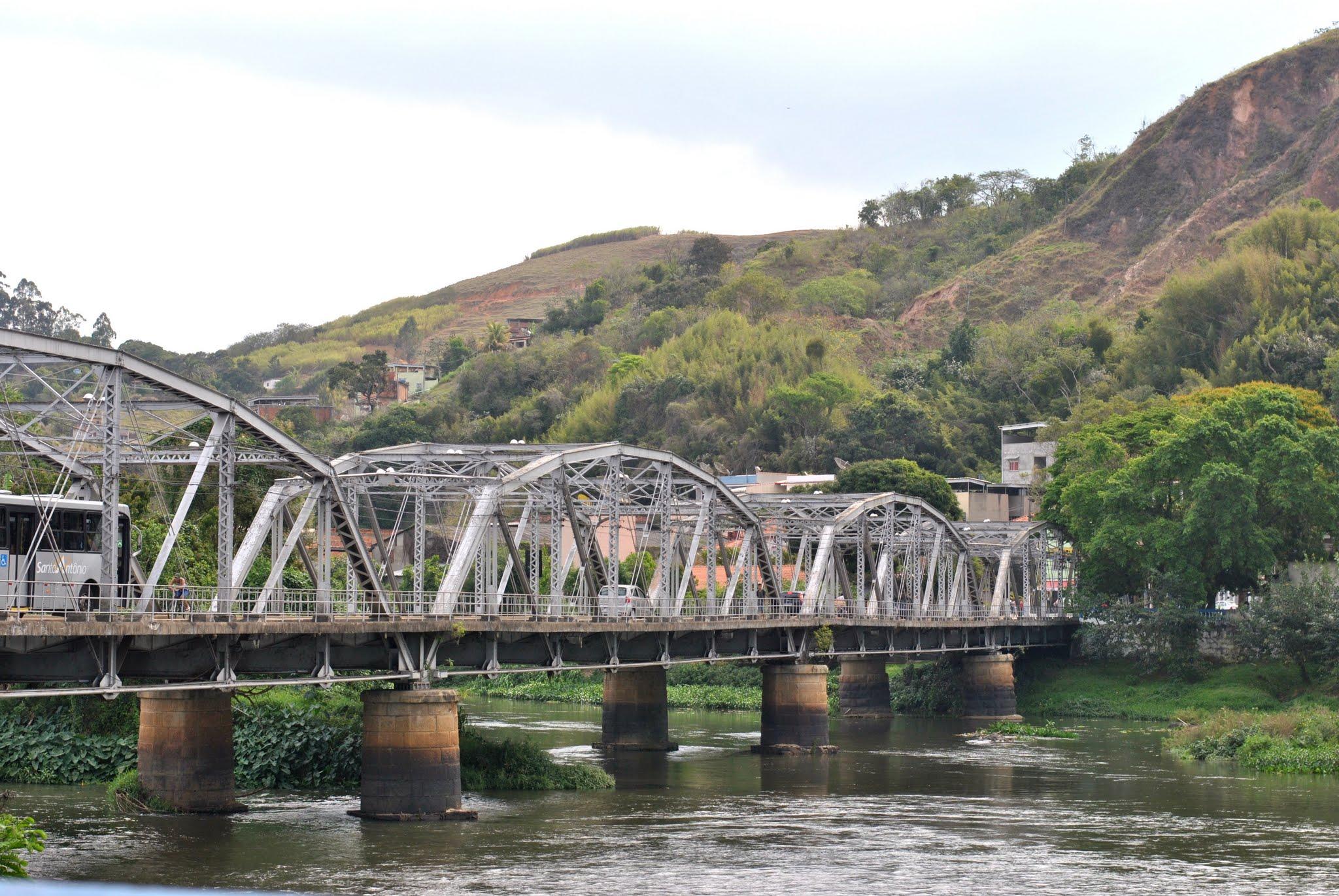 Ponte em ferro de Barra do Piraí