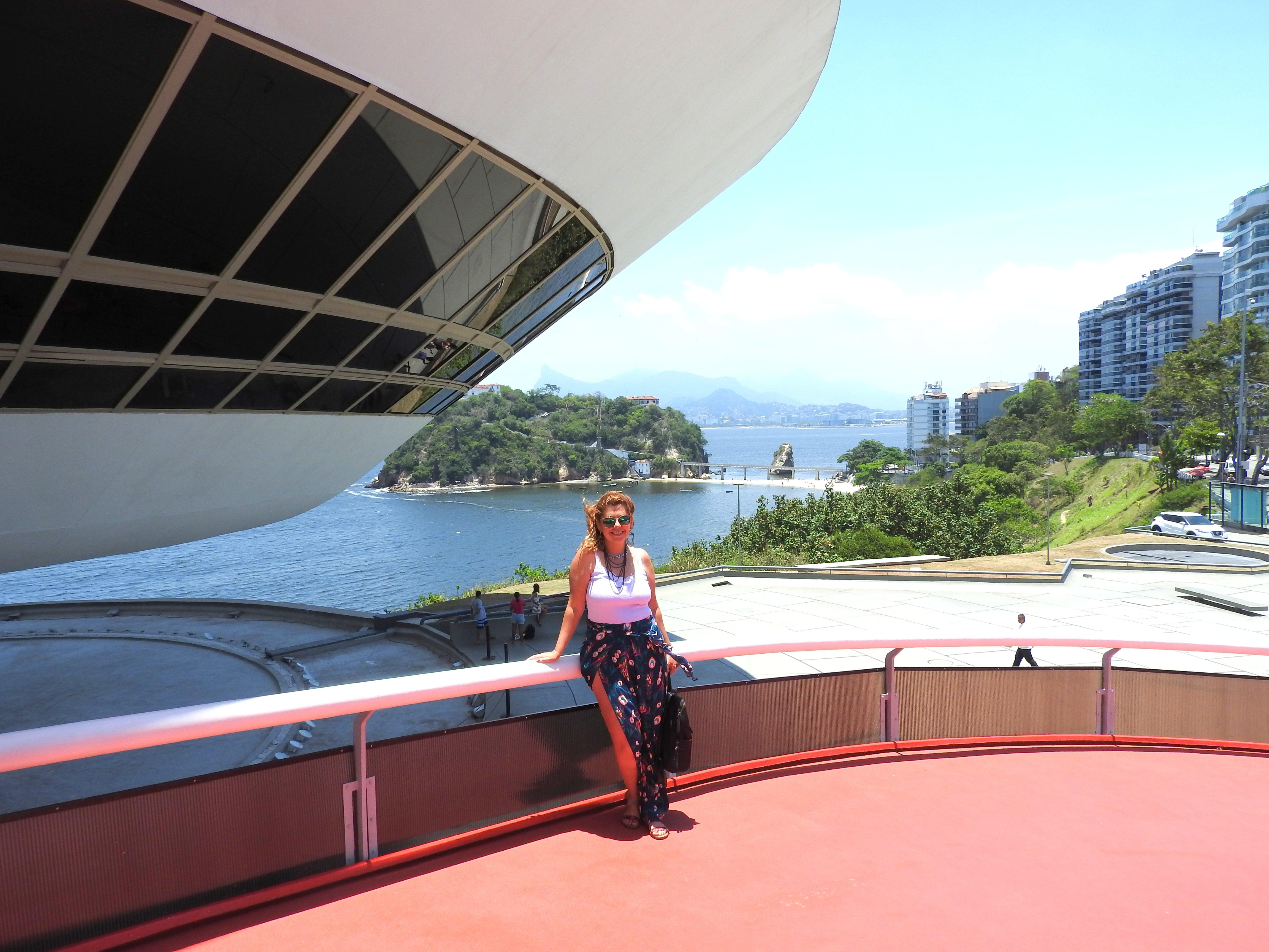 Caminho de Oscar Niemeyer em Niterói